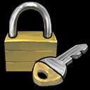 Lock And Key Sticker