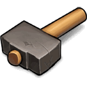 U B K Eternal Sledge Hammer Sticker