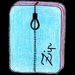 Archive Zip Sticker