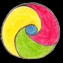 Chrome Sticker