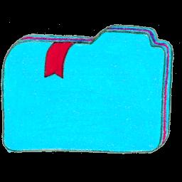Folder 1 Bookmarks 2 Sticker