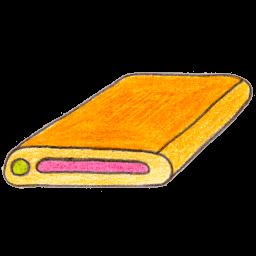 Harddisk 1 Sticker