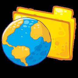 Folder Web Sticker