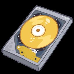 Hard Disk Sticker