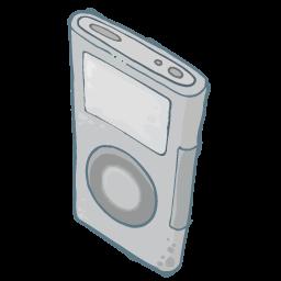 Ipod Grey Sticker