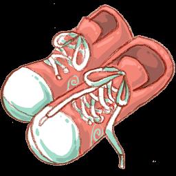 Shoes Sticker