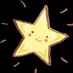 Favorite Star Sticker