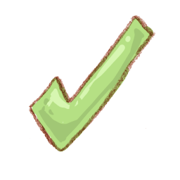 Finished Checkmark Sticker