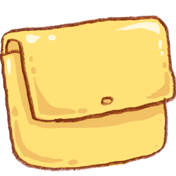 Yellow Folder Sticker