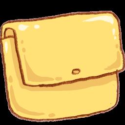 Yellow Folder Sticker