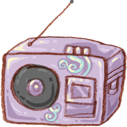 Radio Music Sticker