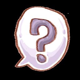 Help Questionmark Sticker