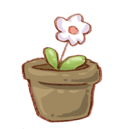 Flower Pot Sticker