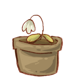 Flower Pot 2 Sticker