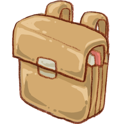 Schoolbag Sticker