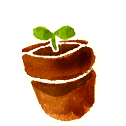 Flower Pot 1 Sticker