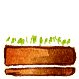 Flower Pot 3 Sticker