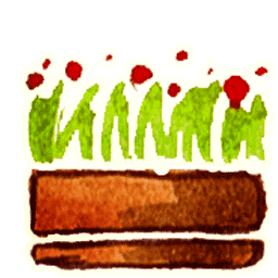 Flower Pot 4 Sticker