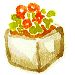 Flower Pot 6 Sticker