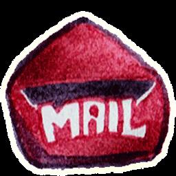Mail 3 Sticker