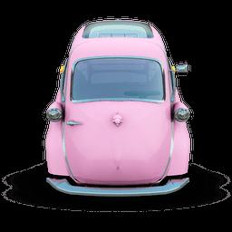 Pink Car Sticker