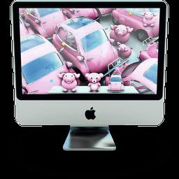 Pinki Mac Sticker