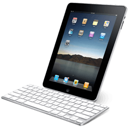 Ipad With Keyboard Sticker