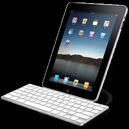 Ipad With Keyboard Sticker
