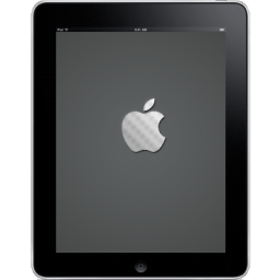 Ipad Front Apple Logo Sticker