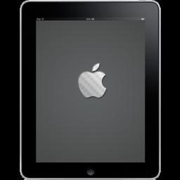 Ipad Front Apple Logo Sticker