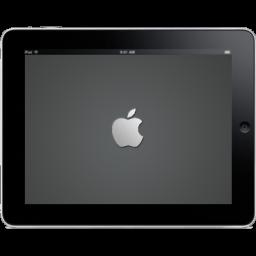 Ipad Landscape Apple Logo Sticker