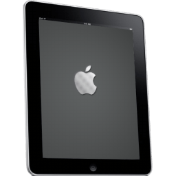 Ipad Side Apple Logo Sticker