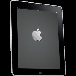 Ipad Side Apple Logo Sticker