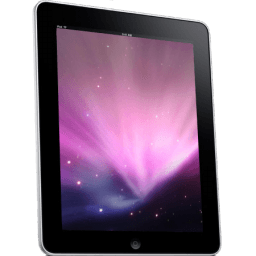 Ipad Side Space Background Sticker