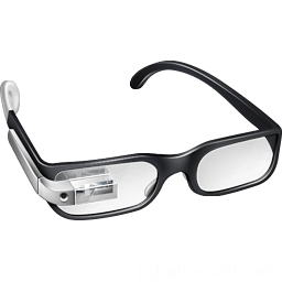 Cool Google Glasses Sticker