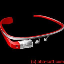 Google Glass Sticker