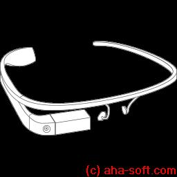 Google Glass Construction Sticker