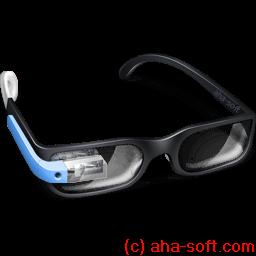 Google Glasses Sticker