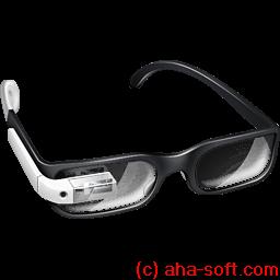 Student Google Glasses Sticker