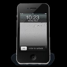 Iphone Black Ios Sticker