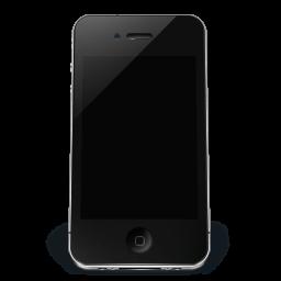Iphone Black Off Sticker