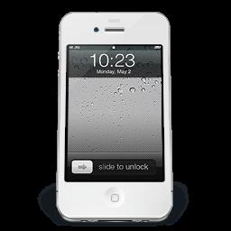 Iphone White Ios Sticker