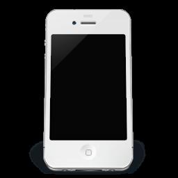 Iphone White Off Sticker