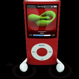 Ipodphonesred Sticker