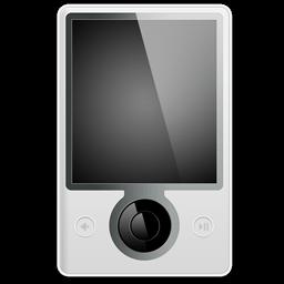 Microsoft Zune Front Sticker