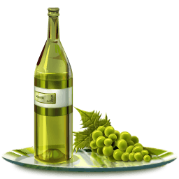Grape Wine Sticker