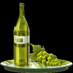 Grape Wine Sticker