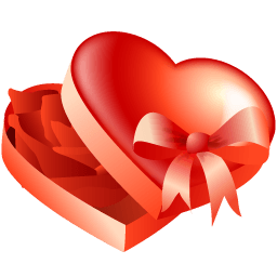 Love Present Sticker