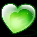 Apple Heart Sticker