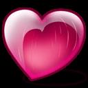 Cherry Heart Sticker